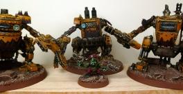 3 Kans prêtes au combat