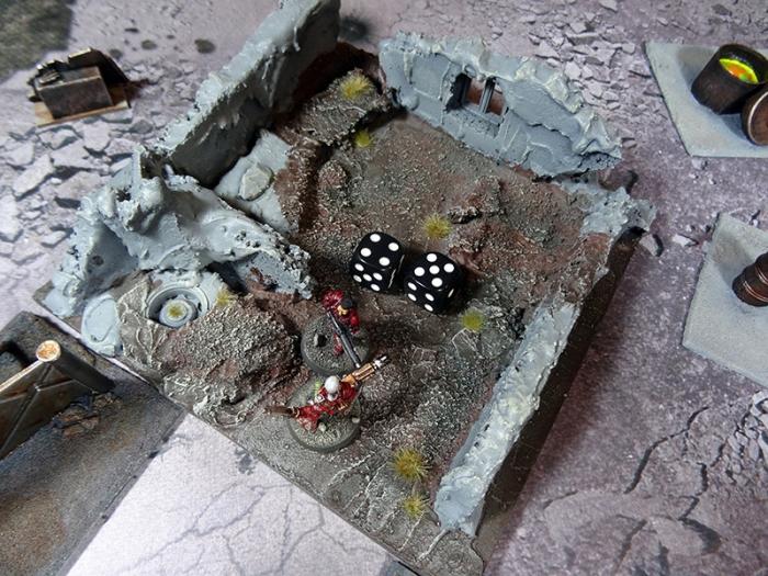 La cible fait ses jets d'armure (3+, les Anges de la Mort ne sont pas nombreux mais ils sont bien équipés, na !)