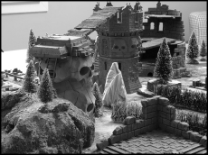 """La Tour du Silence, ou """"comment rendre les magiciens inutiles dans Frostgrave"""" ?"""