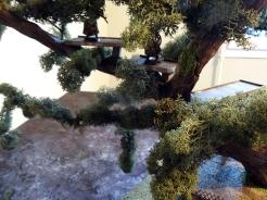 Les décors serviront aussi à faire de l'escarmouche (Nécromunda/Shadow Wars). Ca va être drôle de voir les figs tomber de si haut après un test d'initiative raté...