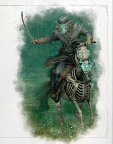 Cavalier blafard